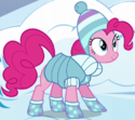 Pinkie Pie winter clothes ID S5E5