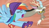 "Rainbow Dash ""the winterzilla is coming!"" MLPBGE"