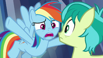 "Rainbow Dash ""we don't need them!"" S8E22"
