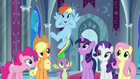 "Rainbow Dash ""we get all your powers"" S9E1"