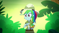 Rainbow Dash hears something in the bushes SS12