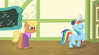 Rainbow Dash leaves -professionally- S4E05