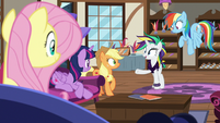 "Rarity ""glad I have all of you to remind me"" S7E19"