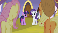 Rarity 'You can dismiss' S3E2