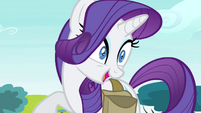 Rarity laughing at -Rariot- joke S4E23