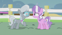 Silver -wasn't even allowed to speak!- S5E18