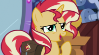 Sunset Shimmer -could be a nice distraction- EGS3