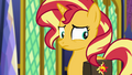 Sunset realizes who Twilight is talking about EGFF.png