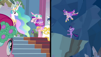 This Day Aria Cadance splitscreen S2E26