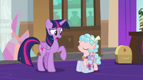 "Twilight Sparkle ""and she said yes?"" S8E25"