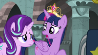"Twilight Sparkle ""there's a pony in there"" S7E26"