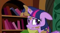 "Twilight unsure ""the castle's fine"" S5E3"