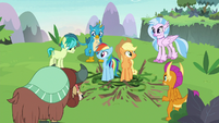 Young Six set Rainbow and AJ free S8E9