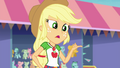 AJ asks Twilight and Sunset about Fluttershy EGROF.png