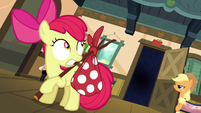 Apple Bloom staring into the abyss S5E4