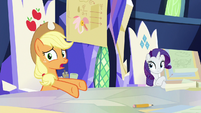 "Applejack ""bushel and a peck of impenetrability"" S9E4"