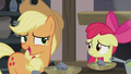 Applejack looking on the bright side S5E20.png