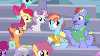 Bow Hothoof -you really know your Rainbow Dash history- S7E7