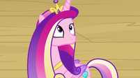 Cadance hears director's announcement about her S7E22