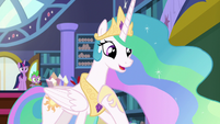 "Celestia ""the pleasure is all mine!"" S8E7"