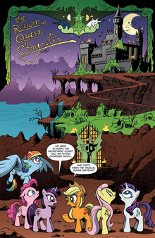 Comic issue 4 page 1