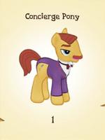 Concierge Pony MLP Gameloft