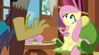 Discord being insistent toward Fluttershy S7E12