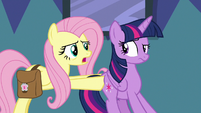 "Fluttershy ""I've got a route all planned out"" S7E20"