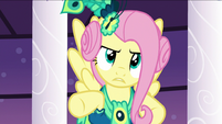 Fluttershy asks Discord why he's doing this S5E7