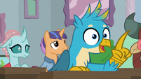 Gallus agreeing with Professor Rockhoof S8E21