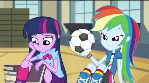 Italian Equestria Girls Rainbow Rocks Animated Shorts Shake Your Tail!