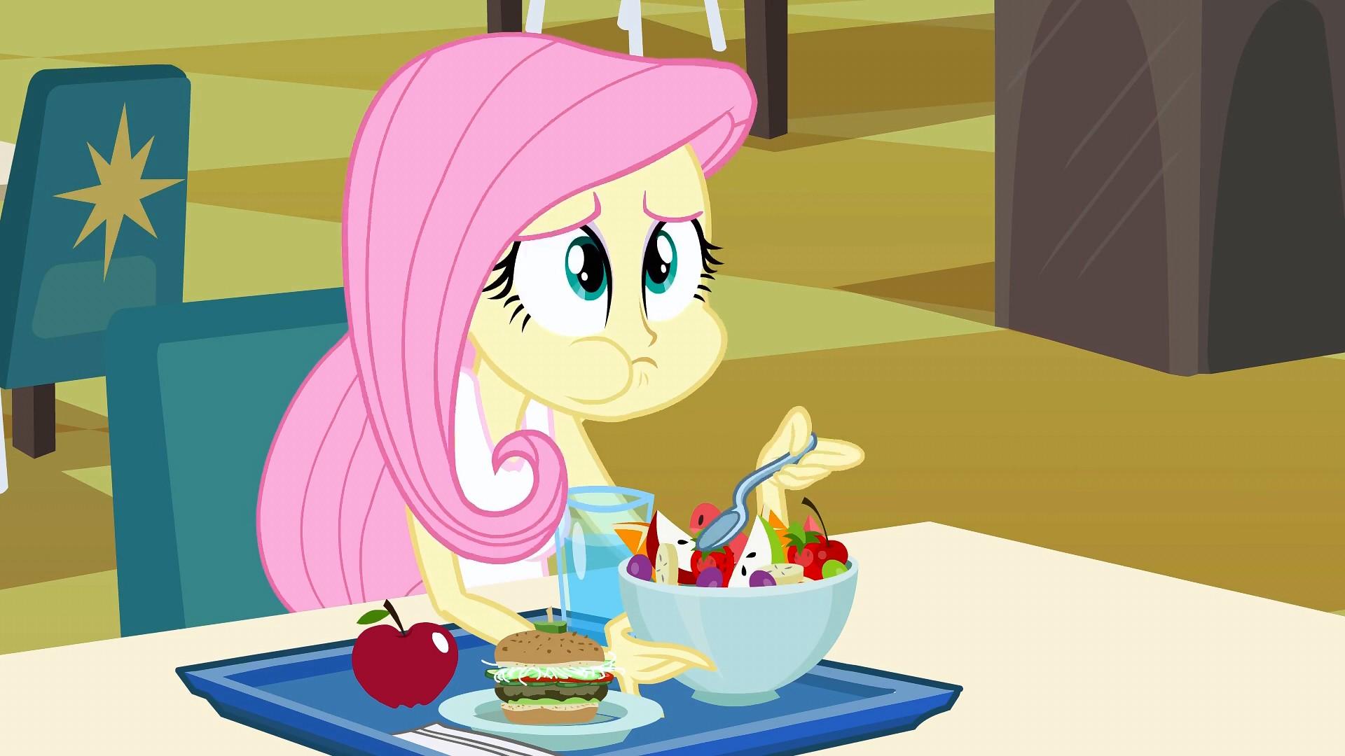 Image - Lefty Fluttershy EG.jpg | My Little Pony Friendship is ...