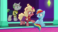 "Line Pony ""thanks for giving me your place"" S8E5"