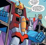 MLP Transformers issue 1 Starscream