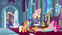 Mane Six nursing Discord back to health S9E2