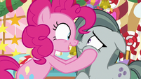 "Pinkie Pie ""Marble, you're a genius!"" MLPBGE"