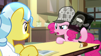 "Pinkie Pie ""analyze the flavor of that pie"" S7E23"