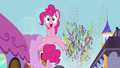 Pinkie up into the air S3E01.png
