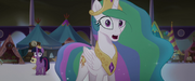 Princess Celestia giving instructions to Luna MLPTM