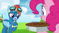 "Rainbow Dash ""I haven't even trained yet"" S7E23"