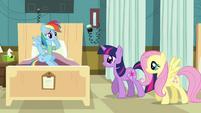 Rainbow Dash 'hey guys' S02E16