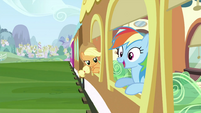 Rainbow Dash happy S2E25