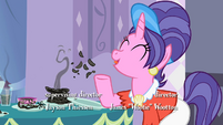 Rarity's mother -I've been giving her lessons- S2E5
