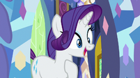 "Rarity excited ""are you sure?"" S9E19"