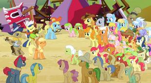 S03E08 Applejack zaczyna śpiewać