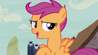 "Scootaloo ""coast is clear!"" S7E8"