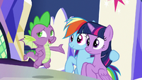 """Spike """"if you think about it"""" S9E1"""