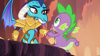 Spike and Ember smiling S6E5