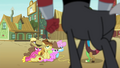 Tirek stands over the Earth ponies S4E25.png
