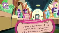 Twilight's long friendship lesson checklist S6E1